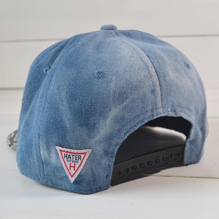 в наличии! Весна новой моды кожа + Хлопок ненавистник snapback бейсбол Кап хип-хоп шляпа & шапки для мужчин, женщин
