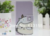 Чехол для для мобильных телефонов huawei G615 G600 Case, New Fashion Cute FLIP PU Leather Cover case huawei G615 G600 U8950D WIth Screen Protector