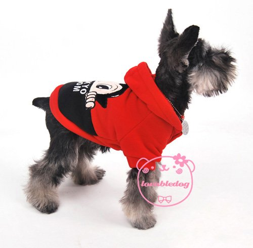 2012 Spring hot style High quality Red Astro boy hoodie Pet apparel Dog Sweater Dog Clothes Wholesale/Retail dog supplies