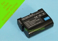 Free Shipping, 1pcs/lot,  ENEL15 EN-EL15 BATTERY For  Nikon SLRS D7000 V1 D800 D800E D600  Display power