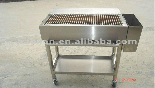 Vendita calda carbone di legna in acciaio inox barbecue, bbq del carbone di legna-Griglia del ...