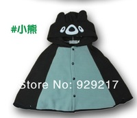Куртка для девочек In 2013 the new baby panda cloak to small rabbit ZhongTong frogs ducklings strawberry shawl batwing coat