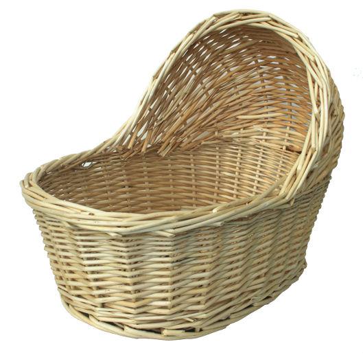 Baby Gift Baskets Empty : Baby s bassinet shaped gift basket buy wicker