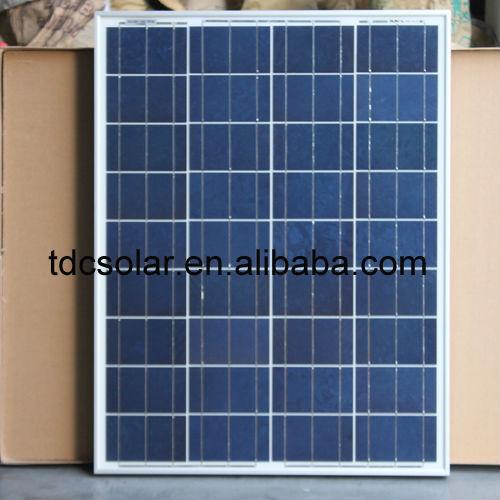 80W Polycrystalline Solar panel price