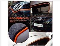 Universal Car Auto Interior Exterior DIY Molding Decoration Trim Orange 120