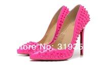Туфли на высоком каблуке Red bottom Handtailor 12 , toe PIGALLE SPIKES 12cm 35-41