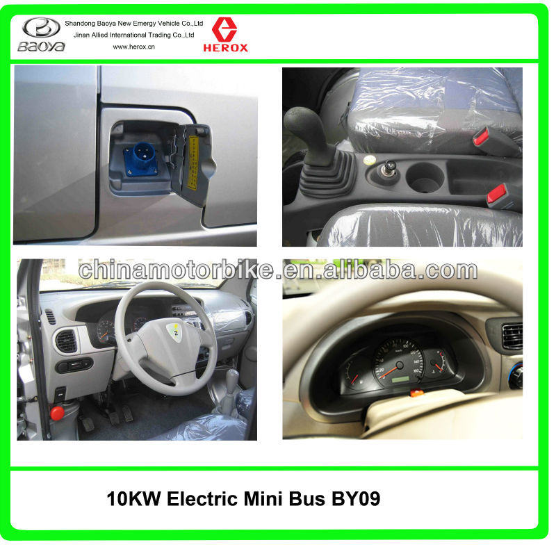10kw electric mini bus with 8 seats
