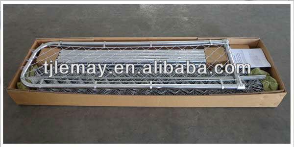 Galvanized chain link aluminium dog cage 10' x 10' x 6'