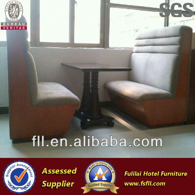 2013 western Restaurant sofa/ Restaurant furniture FL-D035