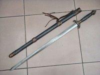 Оборудование для боевых искусств HANDMADE CHINESE KUNG FU 7STAR SWORD DAMASCUS STEEL