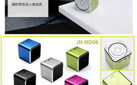 Аудио колонка New Portable Speaker MUSIC ANGEL Speaker speaker+TF card Mini speaker box+100% original quality+1PC HOT sale