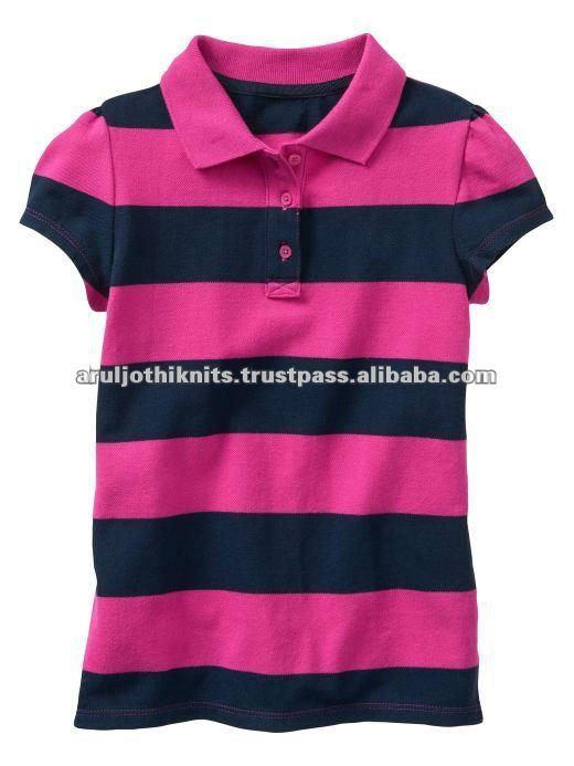 Toddler girls plain polo t shirt buy little girls top for Cute polo shirts for women