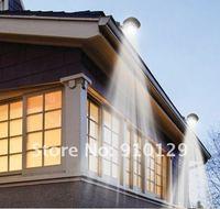Уличное освещение Solar Power 3 LED Garden Path Wall Lights Street Corridor Lamp + Drop Shipping