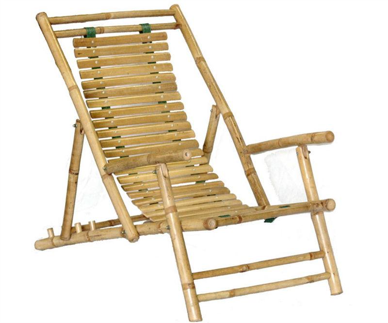 Bf 13008 ext rieur mobilier de salon bambou chaise pliante for Mobilier bambou exterieur