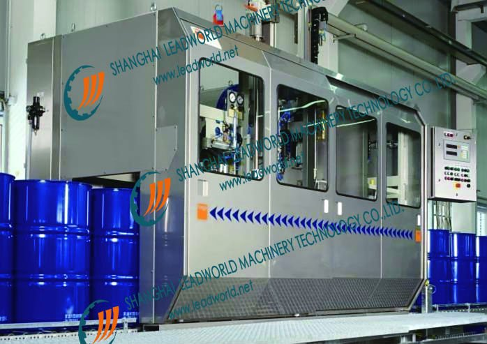 Automatic Electronic scale weighing Oil filling production line for filling