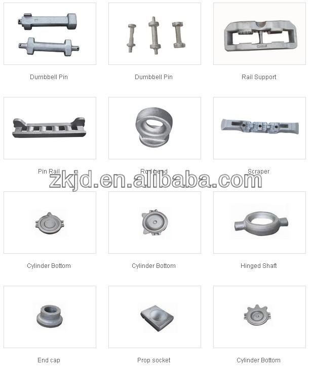 Hydraulic motor eccentric shaft Forging parts