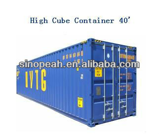 40ft high cube HC HQ steel Container