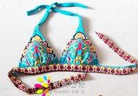 Наборы бикини сексуальный комплект бикини цветочный женский купальник