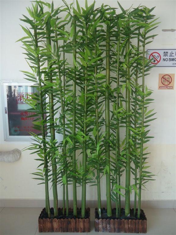 Haute qualit en gros artificielle bambou arbres - Plantas de interior altas ...