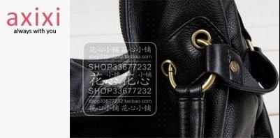 Women Korean Hobo PU leather handbag lady shoulder bag Large capacity Fashion