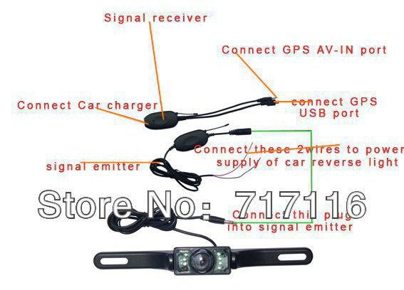 wireless Rear View Camera reverse camera 11.jpg