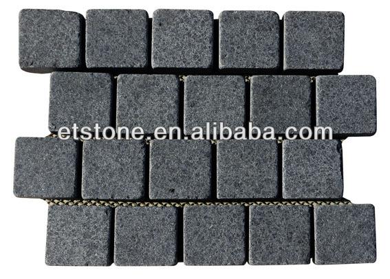 Pavimentação De Pedra De Granito De Forma De Leque/O Resguardo Em ~ Deck Jardim Das Industrias