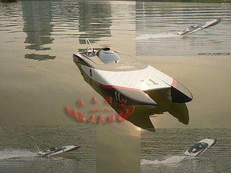 Призрак eletric rc лодка включая с 3660 пар