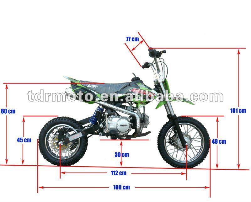 2014 new Lifan 125cc dirt bike/racing motorcycle CRF20