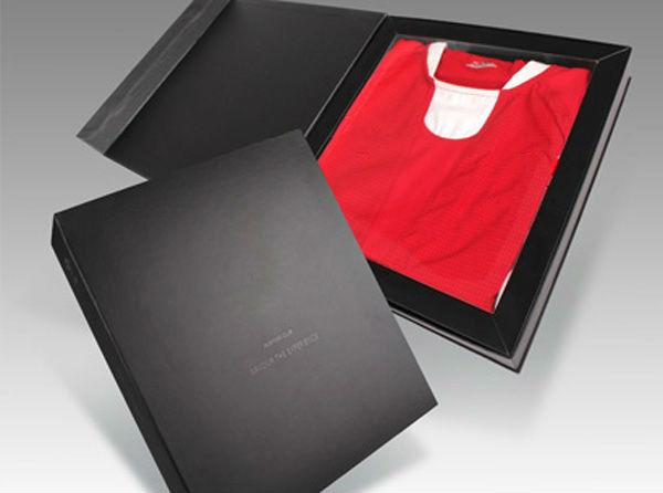Mens unique custom paper packaging t shirt box wholesale for Unique t shirt packaging ideas