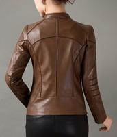 Женская одежда из кожи и замши 4xl/5xl OL 1288