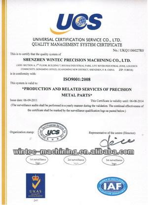 Custom high precise CNC machined parts, CNC precision machining