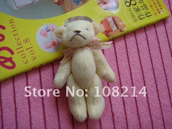 wholesale free shipping 200pcs key chain teddy bear,tinny bear,wedding gifts
