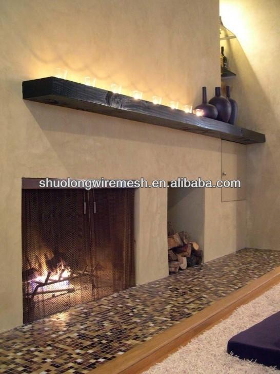 Black Fireplace Replacement Screen Mesh Fireplace Wire Mesh Curtain Buy Fireplace Mesh