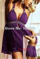 Sexy Ladies Hot fascinated Women Halter Mini Dress Chic Underwear Petticoat Charming Evening Prom Tops Paty Tops E0477