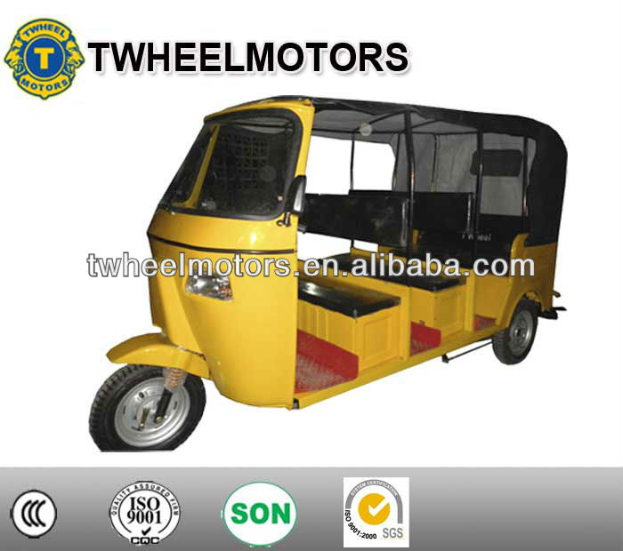 Best price! 4-6 passengers three wheel motorcycle , tricycle bajaj 200cc