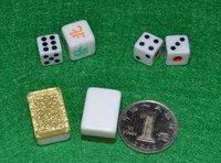 free shopping, five colors Mahjong, gold Mahjong,with the table,Mini Mahjong crystal medium,Puzzle game Chinese traditional