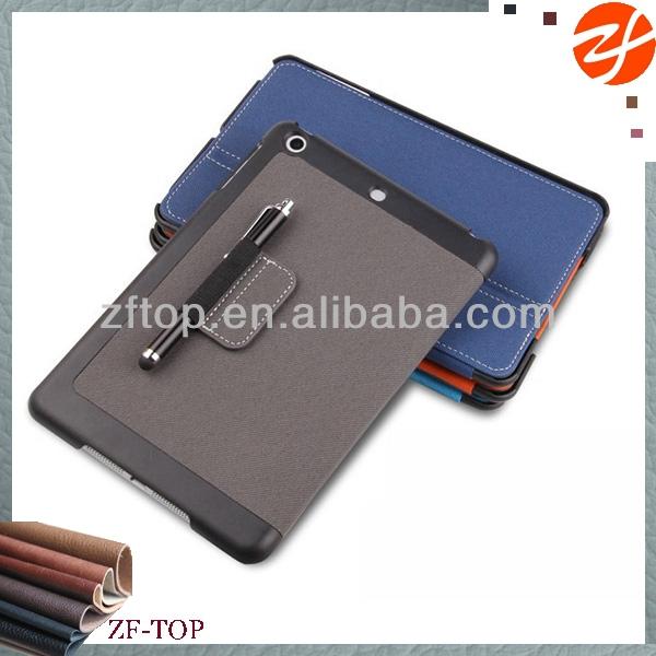 Stylus pen clip For ipad mini new leather case,for ipad mini 2 case