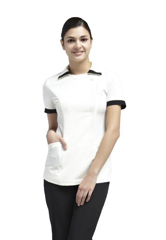 Spa uniform yaejw0023 please contact us via mail for Spa uniform cotton