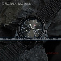 Наручные часы New Fashion Outdoor sports quartz watches, Fabric Strap, Black Dial, watch & retail