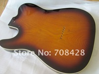 free shipping highly quality tele electric guitar body after finish painting and polish without hardware