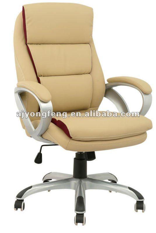 Crema de color pu pvc ejecutivo sillas sillas de oficina for Proveedores de sillas de oficina