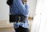 Клатч 2012 VINTAGE WOMAN SKULL DAY CLUTCH BAG IN PATENT PU LEATHER+FASHION WOMAN SHOULDER BAG+LADY ENVELOPE HANDBAG SHIPPPING