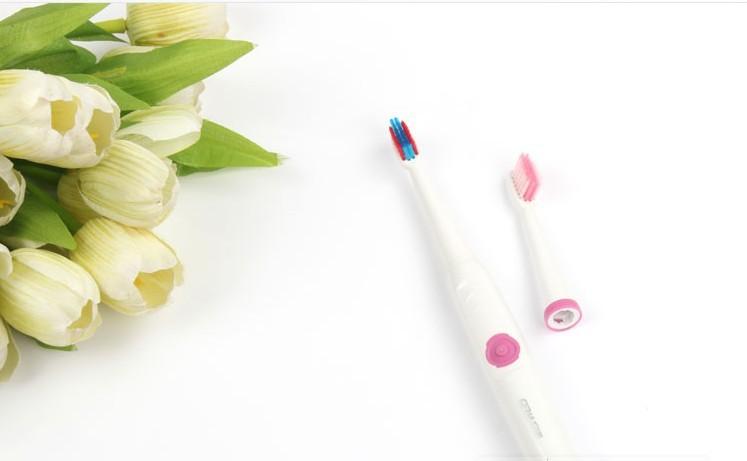Ультразвуковая электрическая зубная щетка вибрации массаж зубной отбеливание зубов высокой частоты