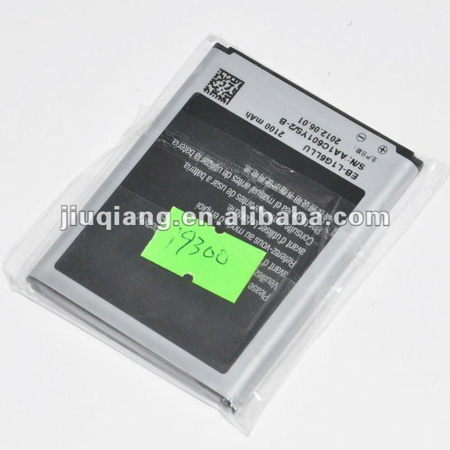 2100mAh OEM Battery For Samsung Galaxy S3 III i9300 bateria EB-L1G6LLU