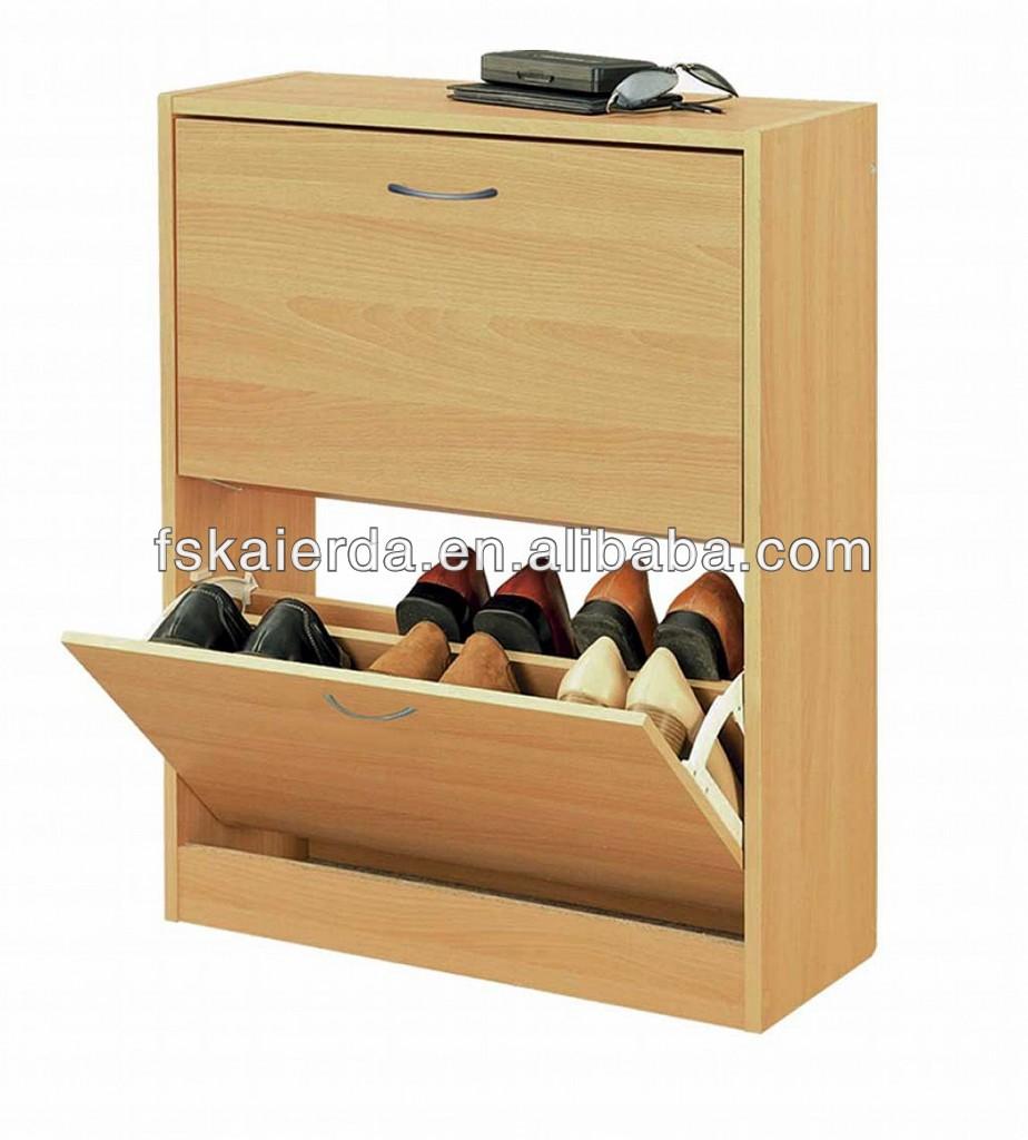 muebles para el hogar de madera maciza zapatero zapatos organizador