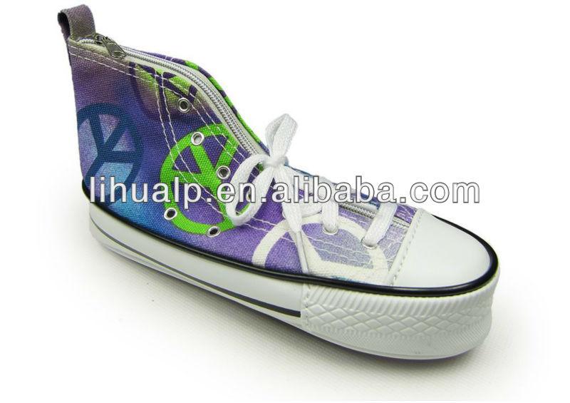 shoe shape pencil case