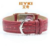 Наручные часы Holiday sale 3 colors fashion Watch men women EYKI Brand Best Quality Brown Leather Quartz wrist Watch Wristwatches