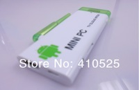 V8 Android 4.1 Mini PC TV stick Rockchip RK3066 Dual core 1G 4G  WiFi antenna CX-803 +  Russian Keyboard 500AC Air Mouse