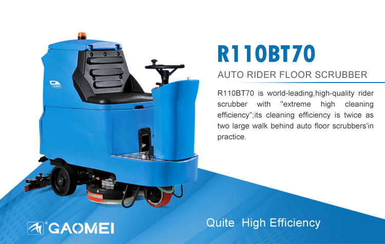 School Floor Cleaning Machine R110BT70