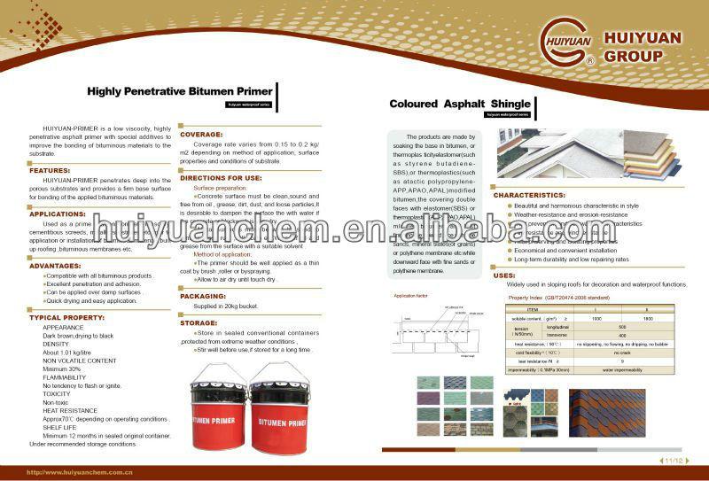 solvent based bitumen primer